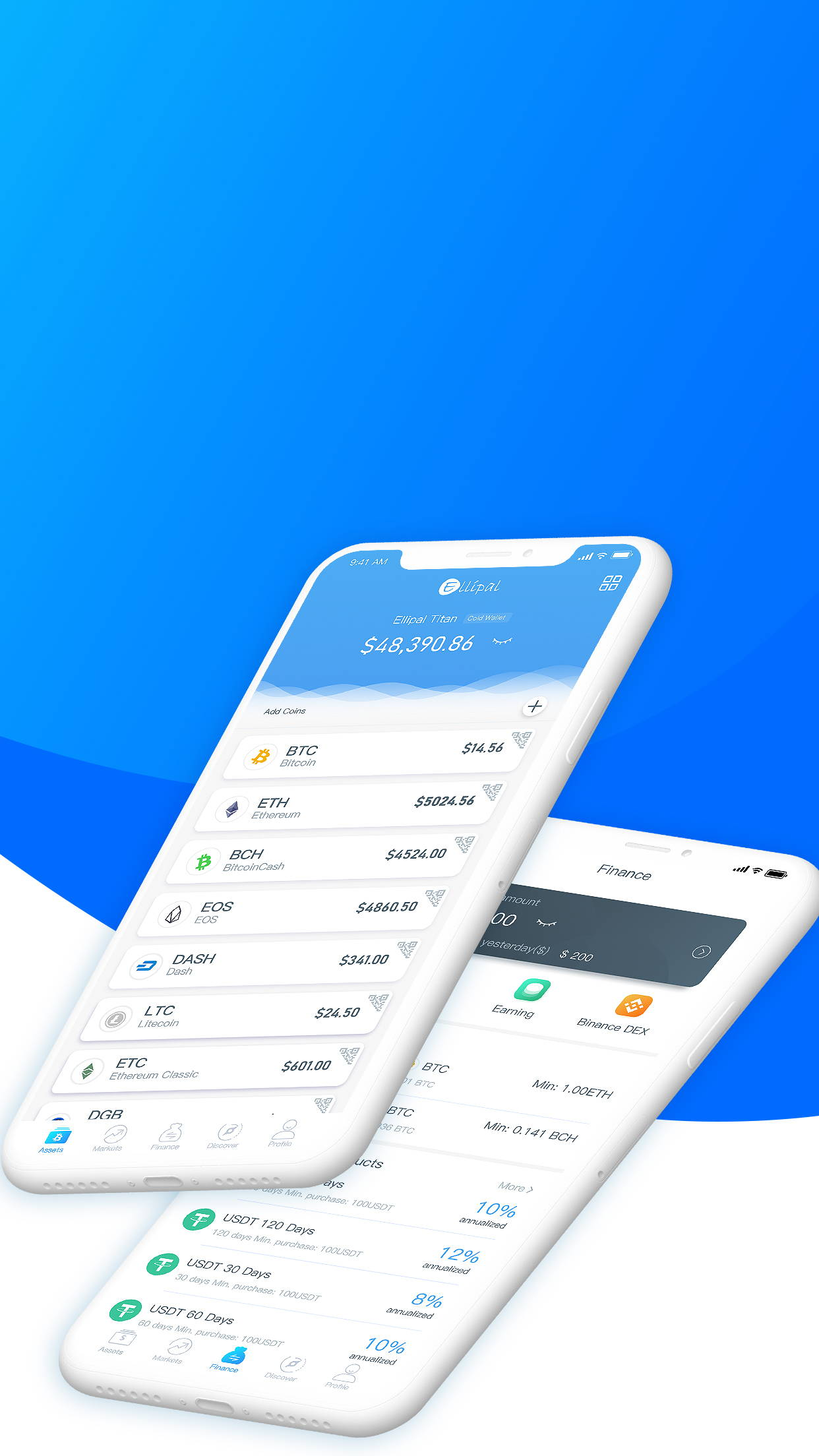 ELLIPAL: One-stop crypto wallet App