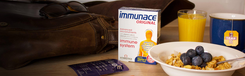 Immunace Original Next To Breakfast
