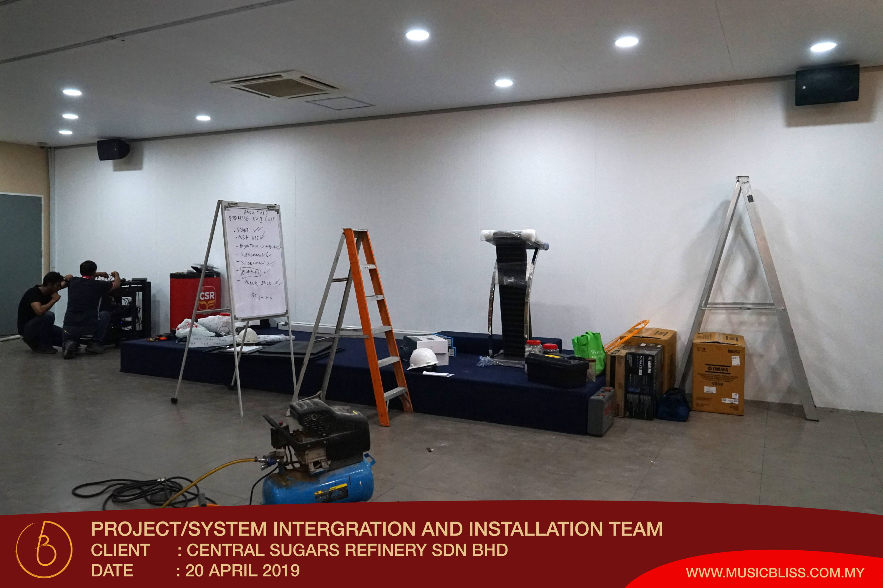 PA System & Audio Installation Project– Music Bliss Malaysia