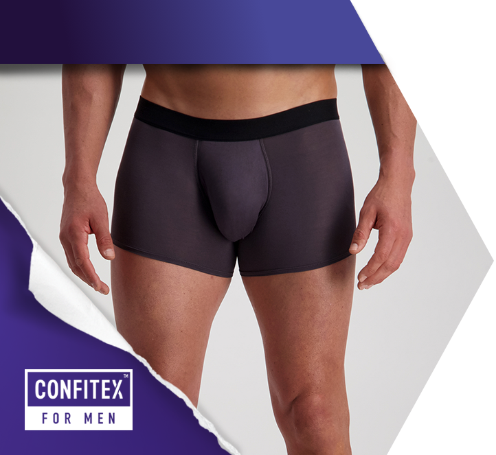 Shop Confitex for Men - Bladder Leakage (Incontinence) Underwear