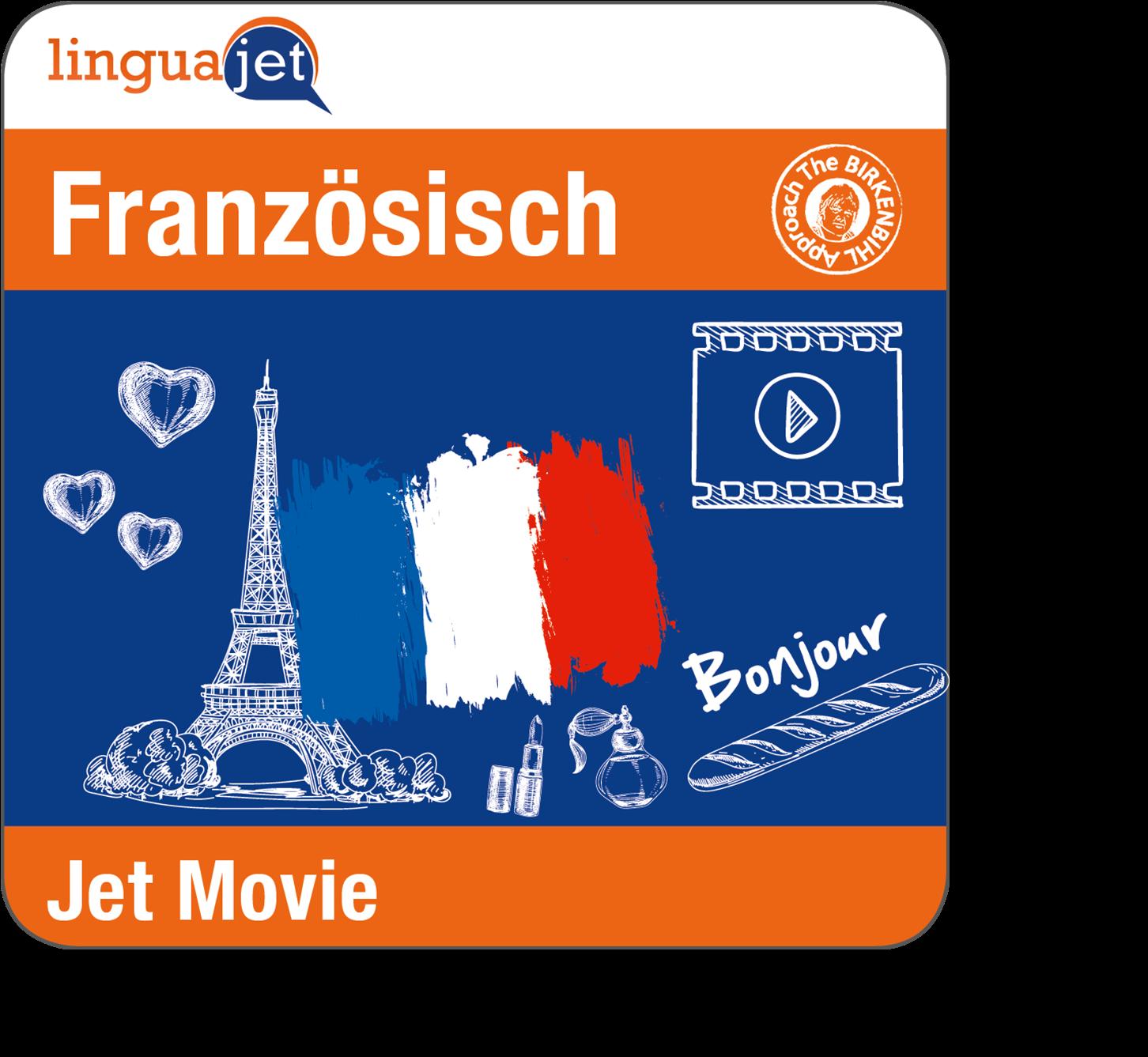 Die jetMovie-Kurse verpacken eine Fernsehserie in einen online Französischkurs