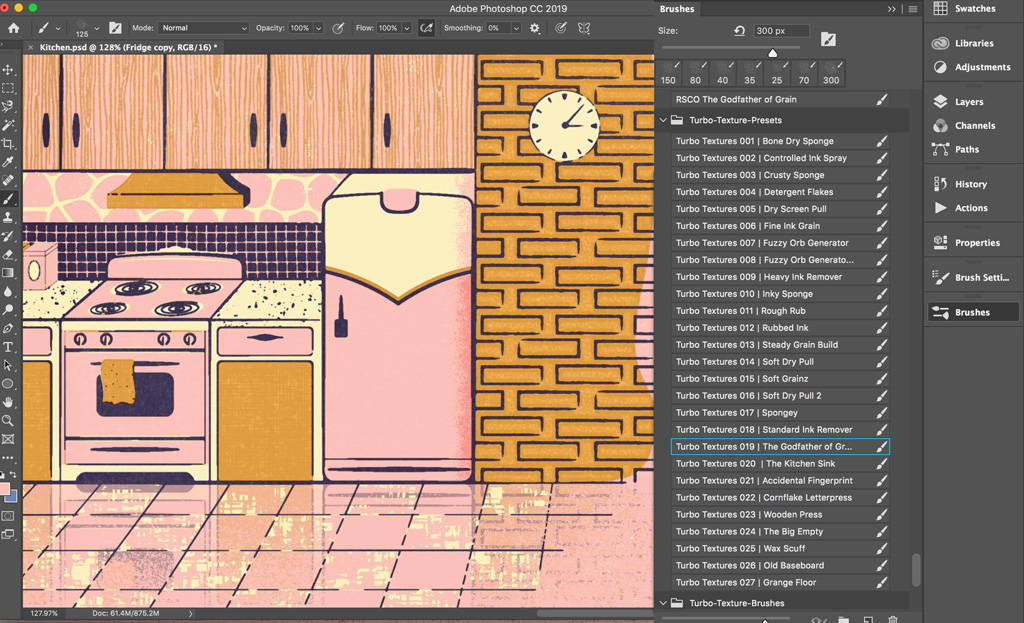 Adding shading and light to your illustration in Adobe Photoshop