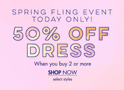 50% Off Dress
