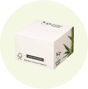 Eco Friendly Biodegradable Cocktail Napkins