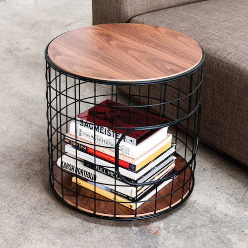 Gus* Wireframe End Table
