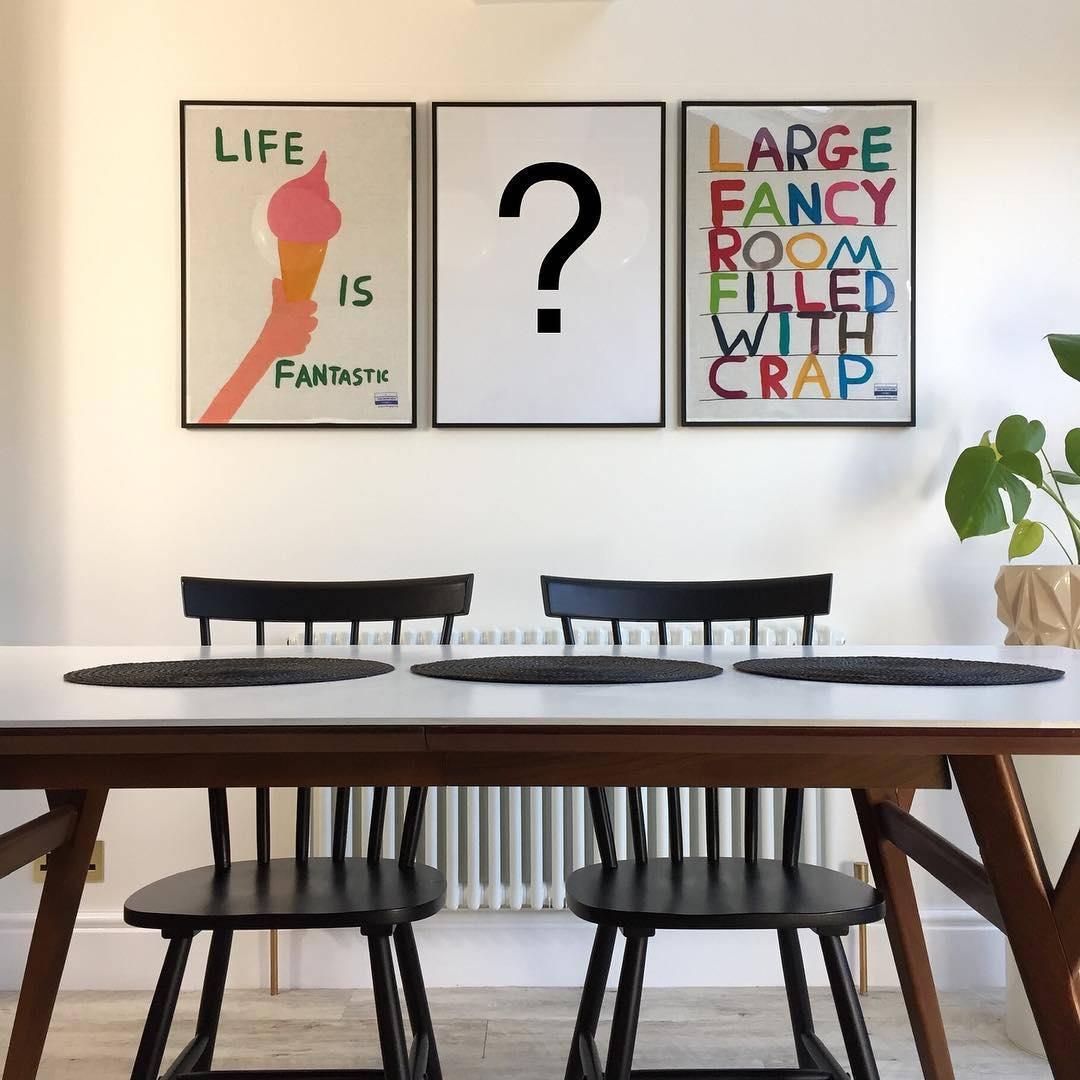 triptych wall art set