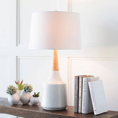 Lighting on sale including table lamps, floor lamps, ceiling lights