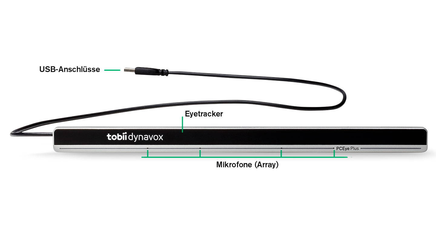 Tobii Dynavox PCEye Plus Eyetracker