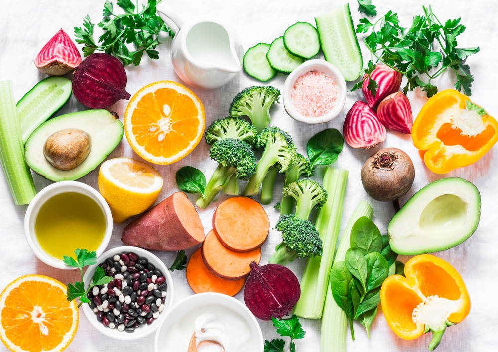 healthy foods on white table how to boost your zinc intake|zinc for immune system