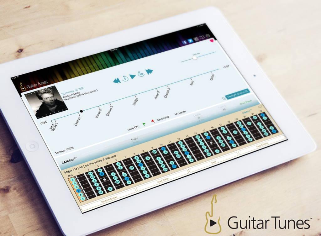 The Guitar Tunes App – The Fretlight Guitar Store