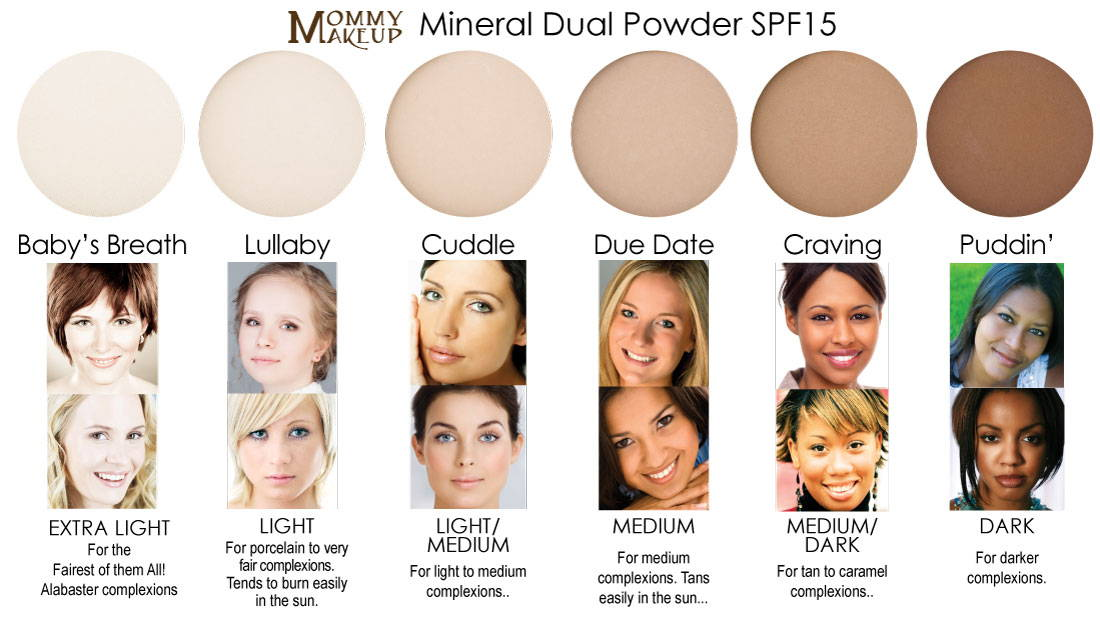 Mineral Dual Powder SPF15 Foundation Shade Finder - What is my shade?
