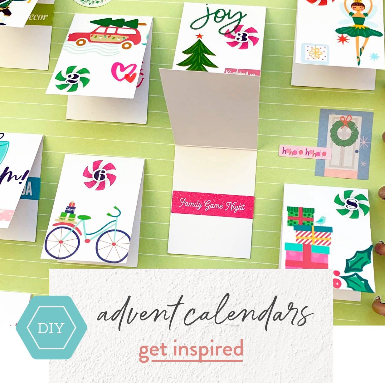 diy advent calendars get inspired
