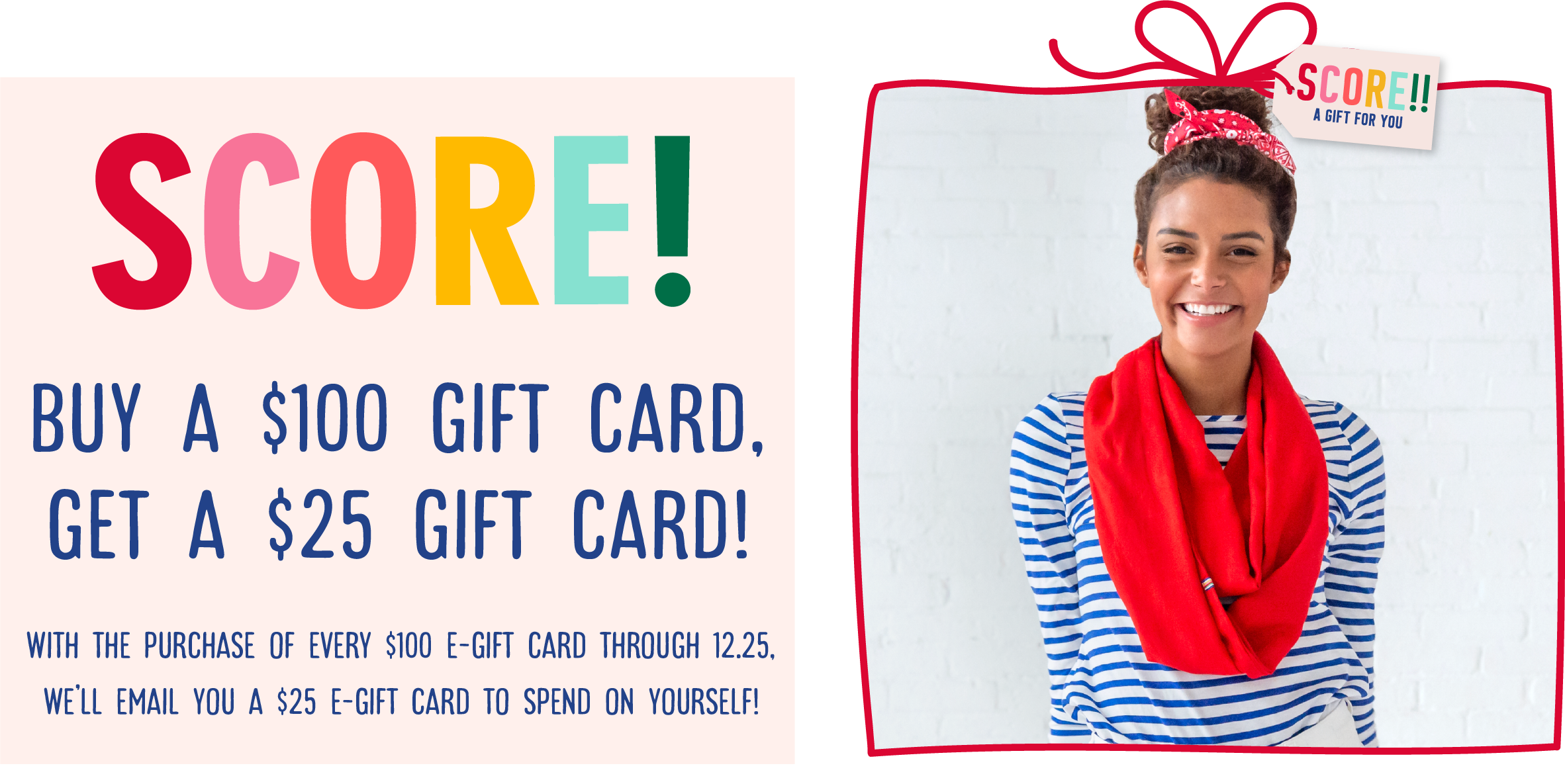 gift card promotions spend 100 dollars get 25 dollars