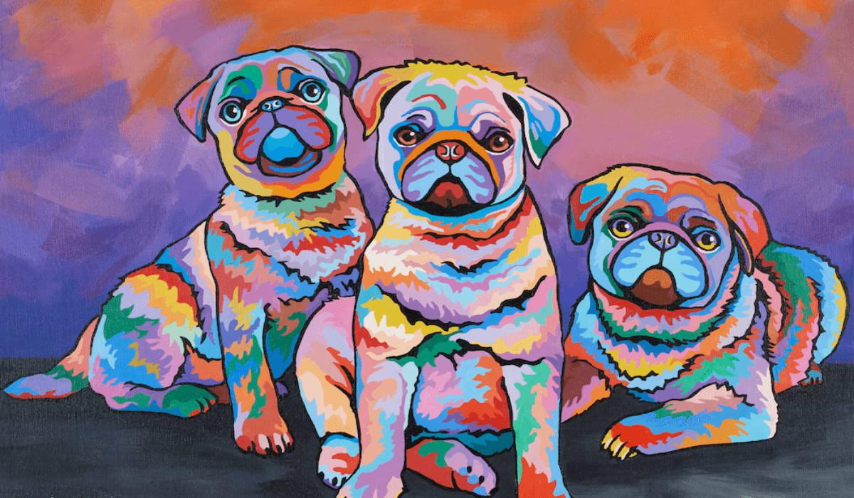 Scotty, Billy & Pugz McDug by Steen Brown