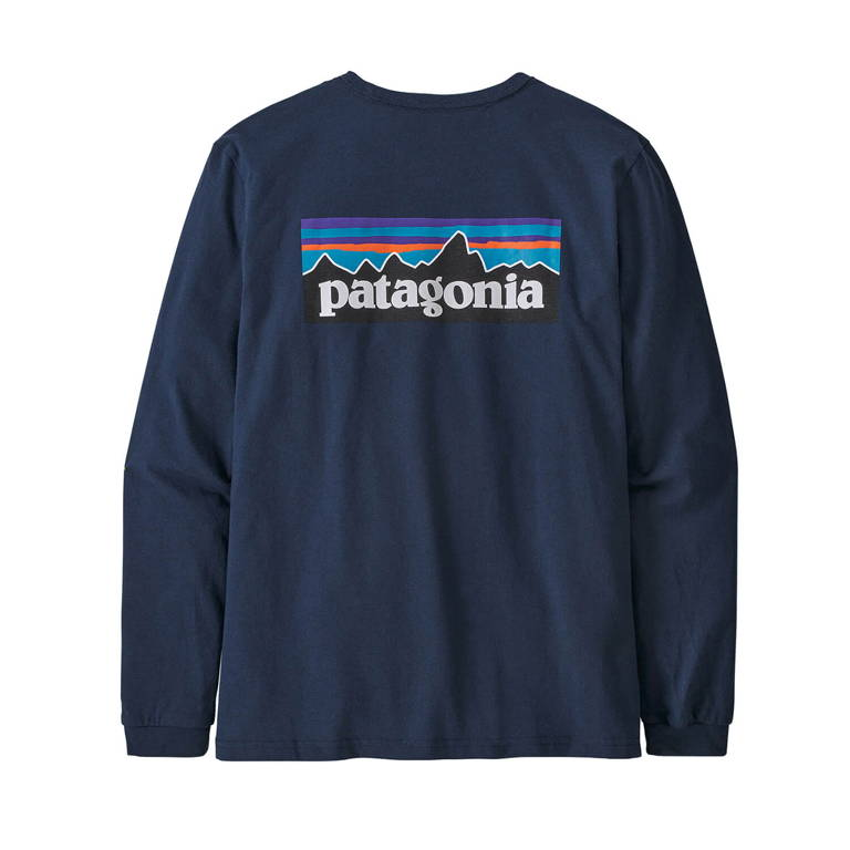 patagonia(パタゴニア)/ロングスリーブ P-6ロゴ レスポンシビリティー/ネイビー/WOMENS