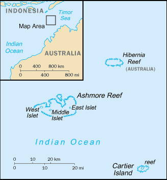 ASHMORE AND CARTIER ISLANDS