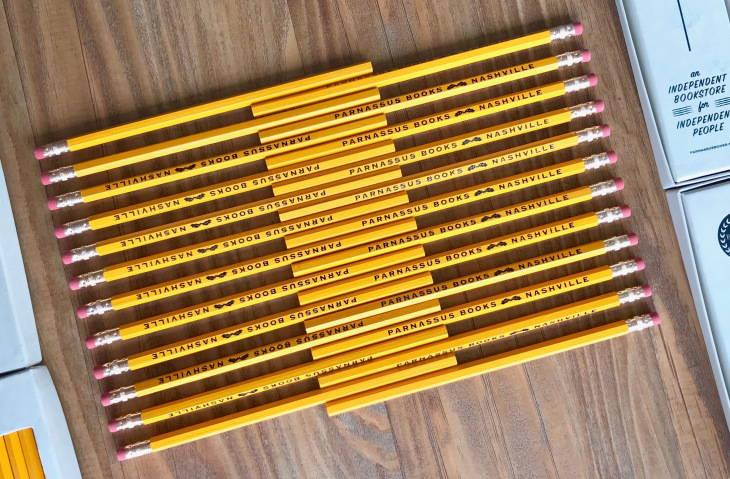Custom Bookstore Pencil