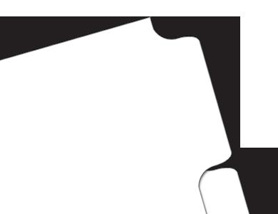 Paper Blank Divider Tabs