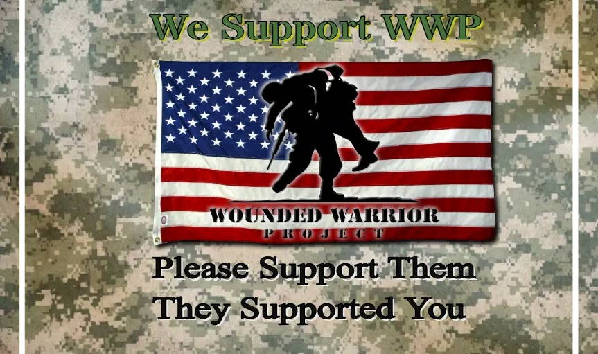 Wounded Warrior Project....Please Support