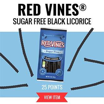 Red Vines Sugar Free Black Licorice - 25 Points VIEW ITEM