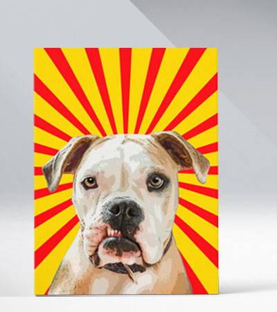Original Pet Pop Art