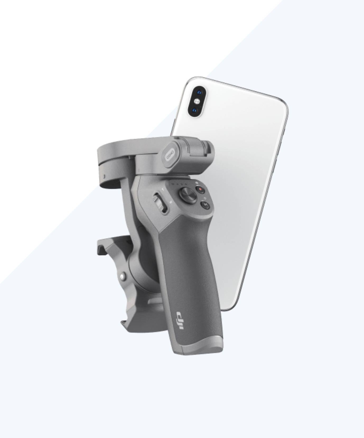 Osmo Mobile 3 fold down design