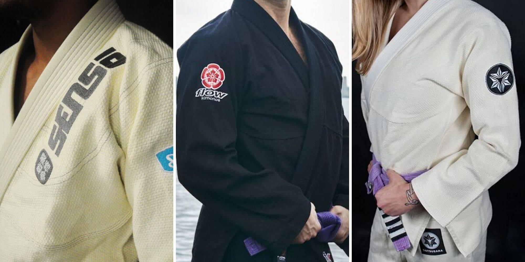 Various Hemp Gi Brands Being Modeled