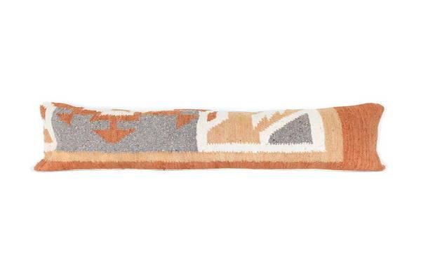 wool lumbar cushion bolster cushion