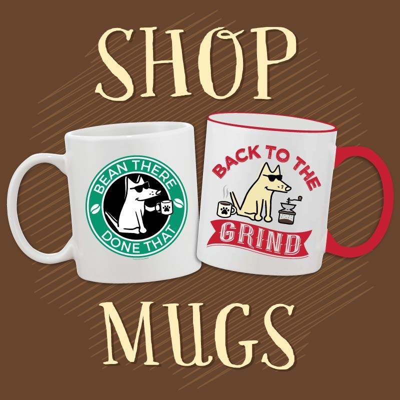 Shop teddy the dog mugs bark roast collection