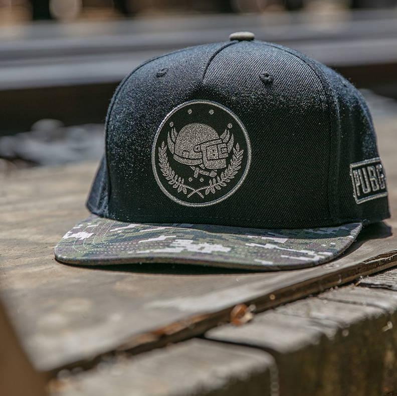 Photo showing a PUBG Pan Crest Hat