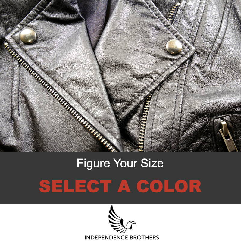 Leather jacket color