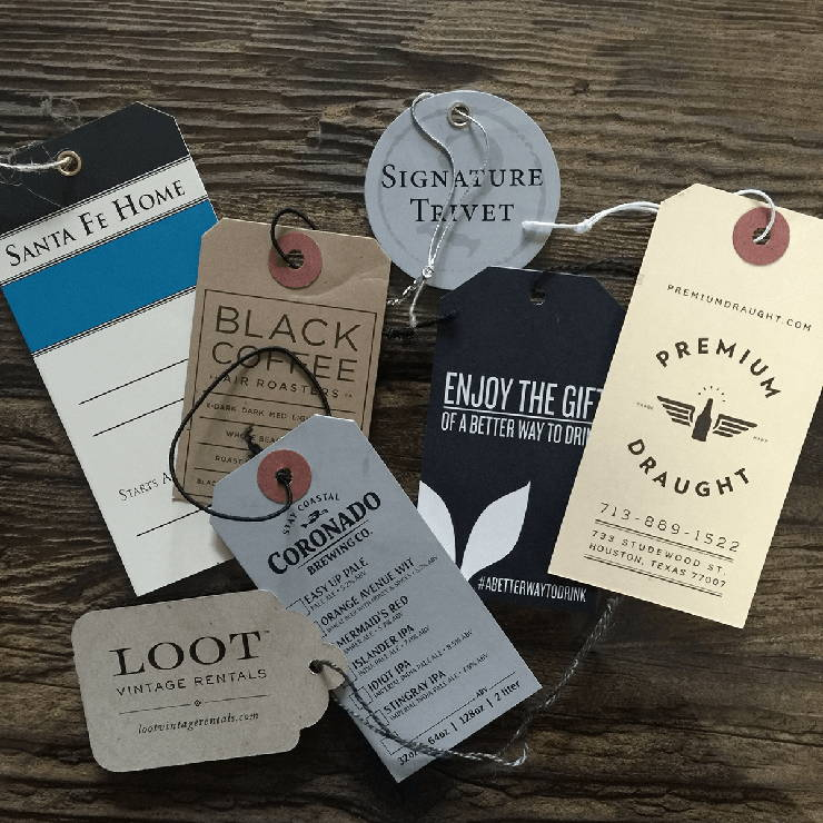 Custom Hang Tags From Labelmatch