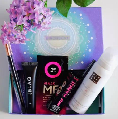 Birchbox gift box with Pro Blo Mask ME