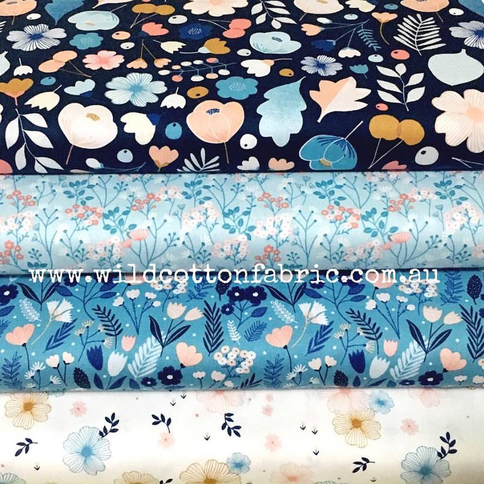 Wild Cotton Fabric - Love Australian Handmade