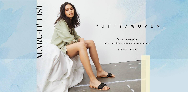 Shop Puffy/Woven