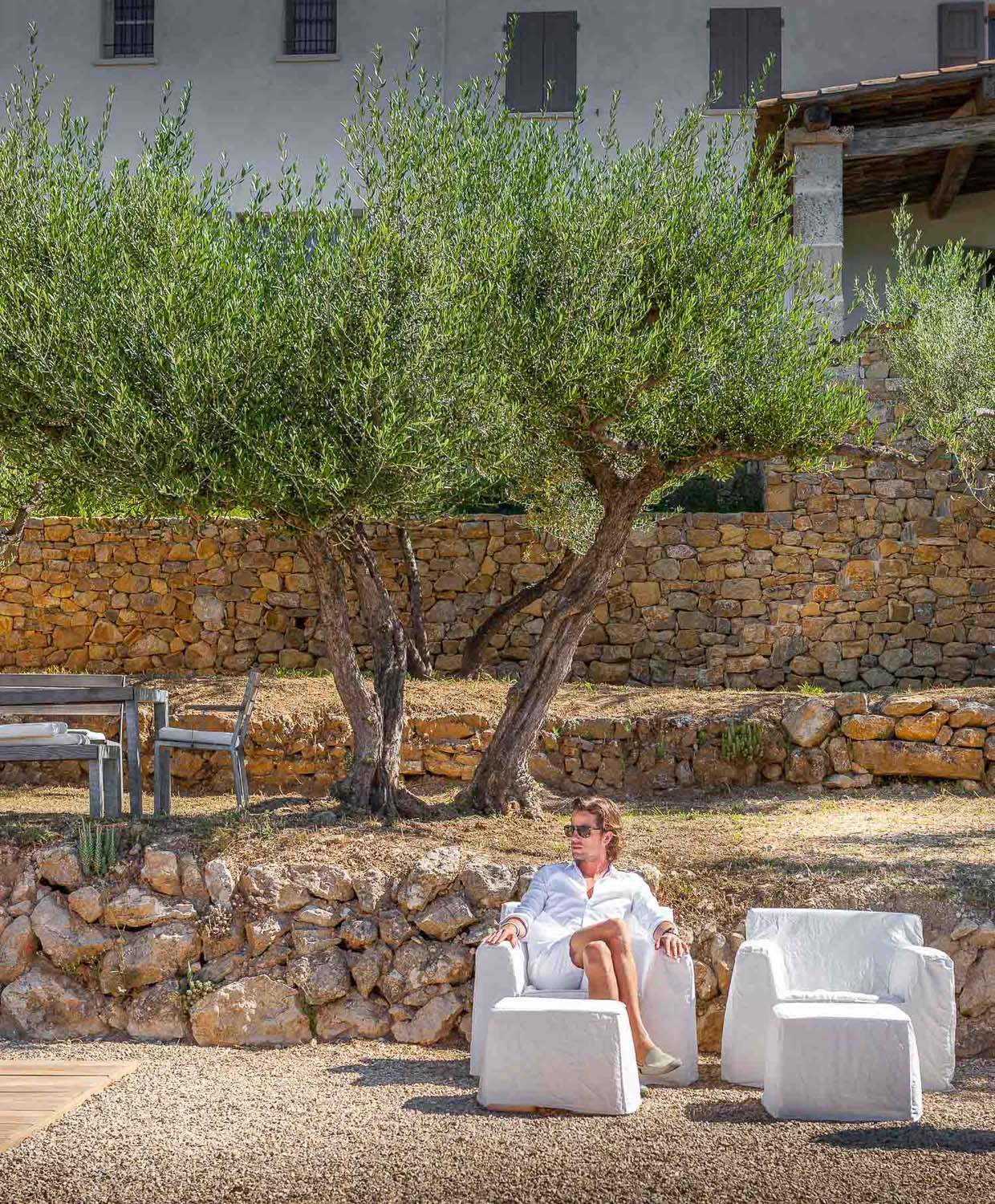 JANGEORGe Interiors & Furniture Project in the Provence France