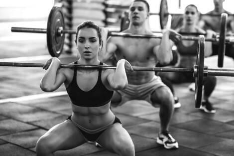 Krafttraining Muskelaufbau Frau