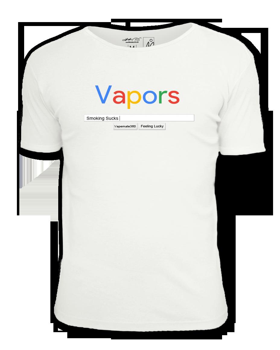 Vaping T-Shirt with google design
