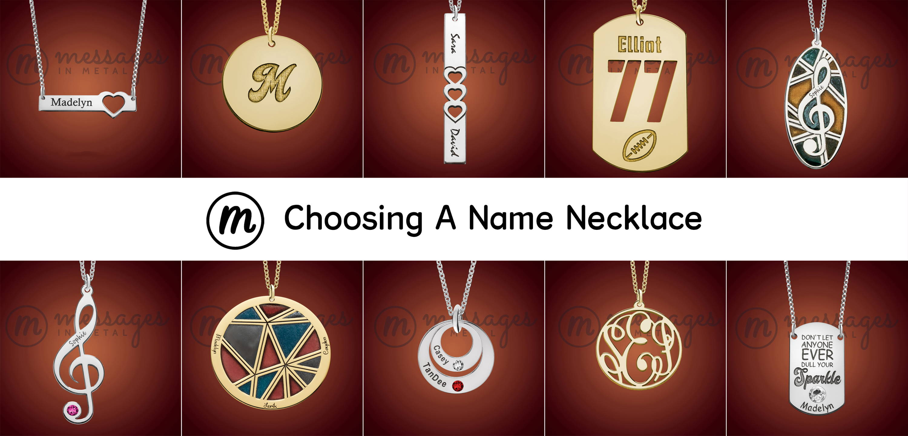 1f5030af70b6c Complete Name Necklace Buying Guide, Choosing A Name Necklace