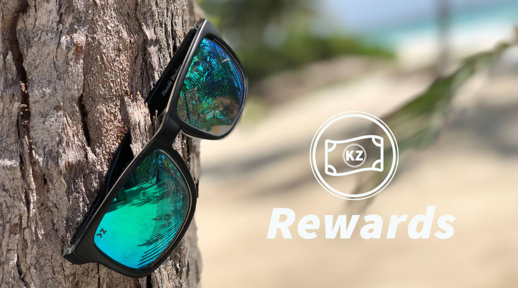 KZ Rewards. Earn rewards towards future discounts on Floating and aviator sunglasses