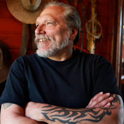 Jorma Kaukonen of Hot Tuna recycled guitar string bracelets and jewelry