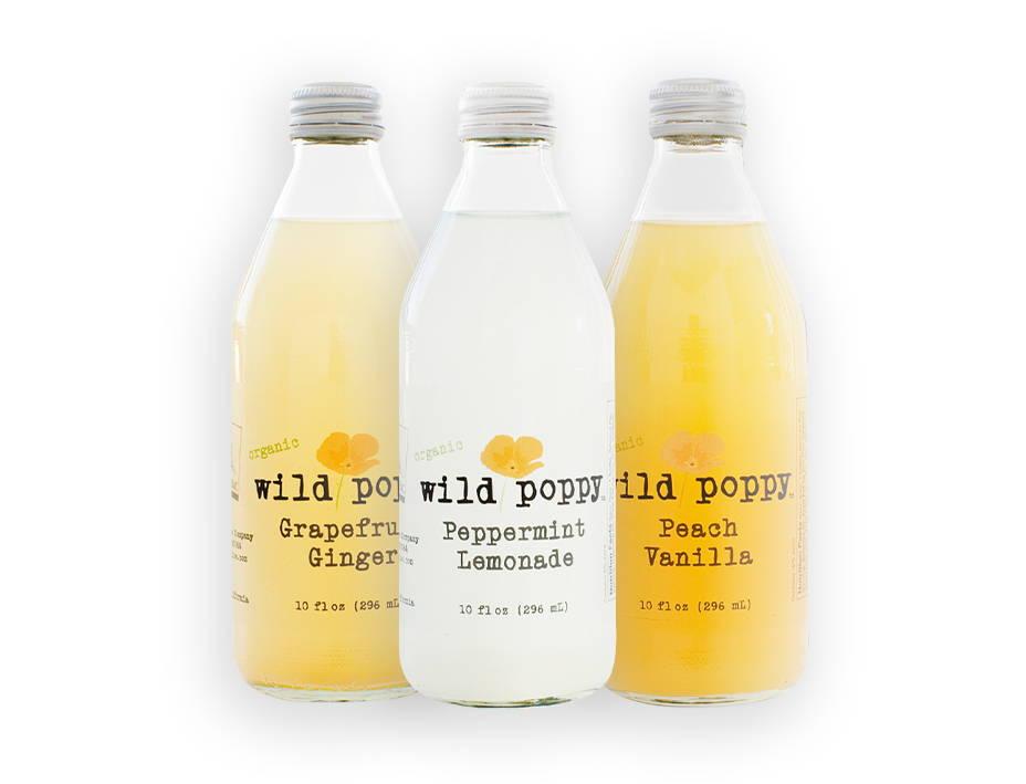 Wild Poppy bottle selection