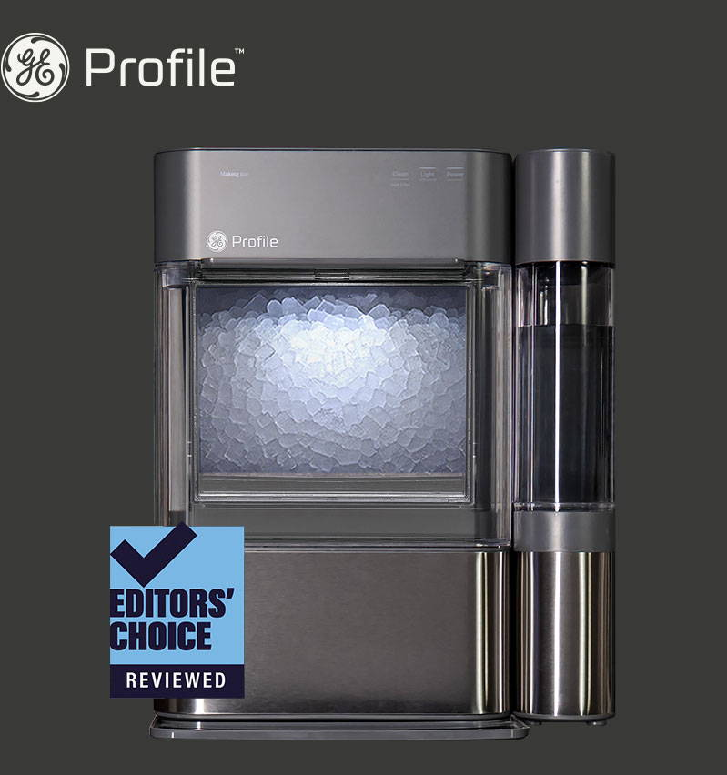 Editors' choice award from reviewed.com - opal 2.0 nugget ice maker