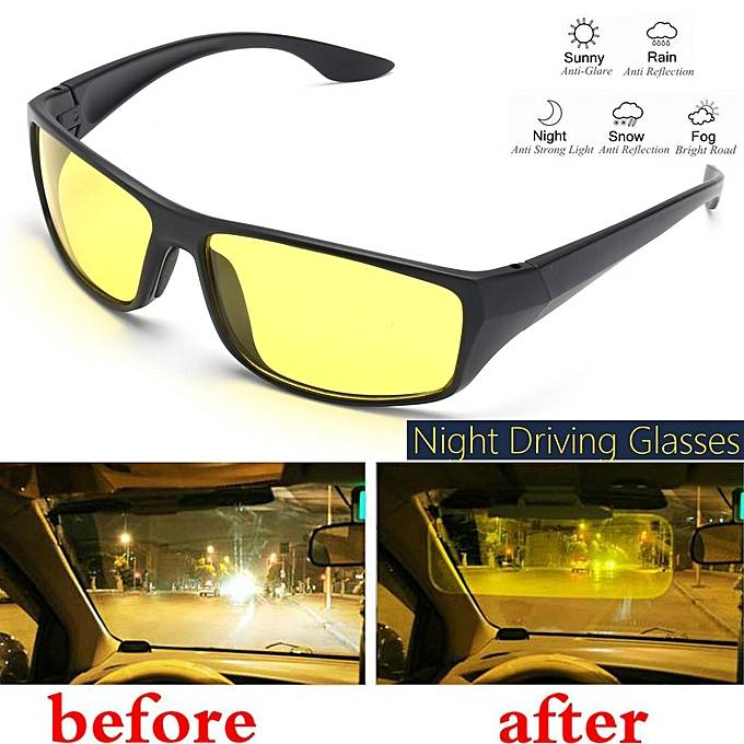 ARE NIGHT VISION GLASSES SAFE FOR DRIVING