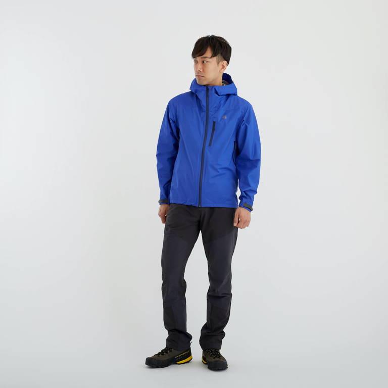 finetrack(ファイントラック)/エバーブレスレグンジャケット/ブルー/MENS