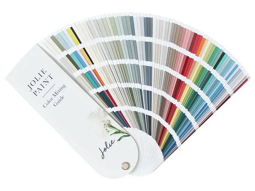 Jolie Color Mixing Guide fan deck