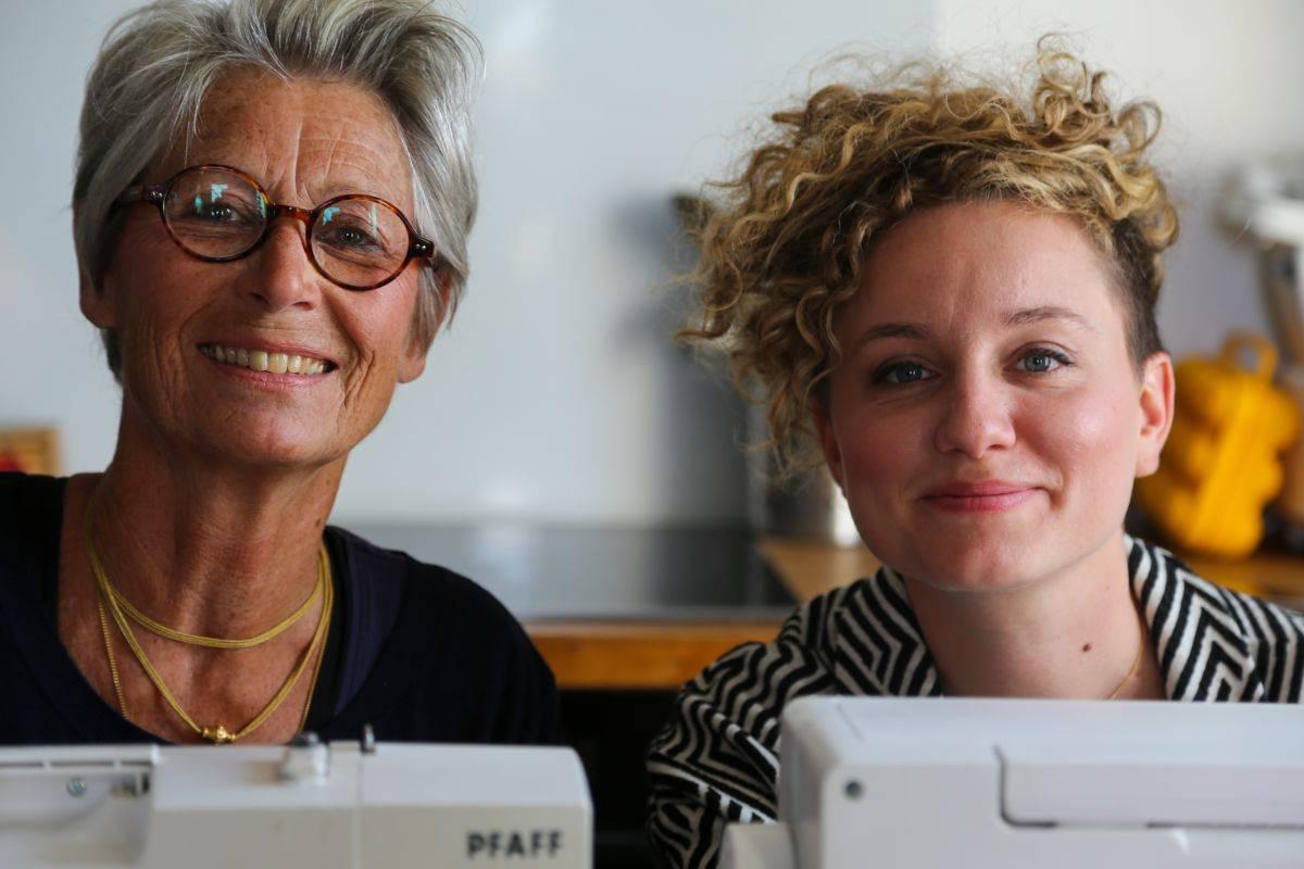Célia et Marie de Papa Poule Mama Cool