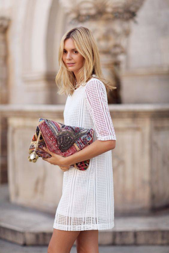 How to wear clutches