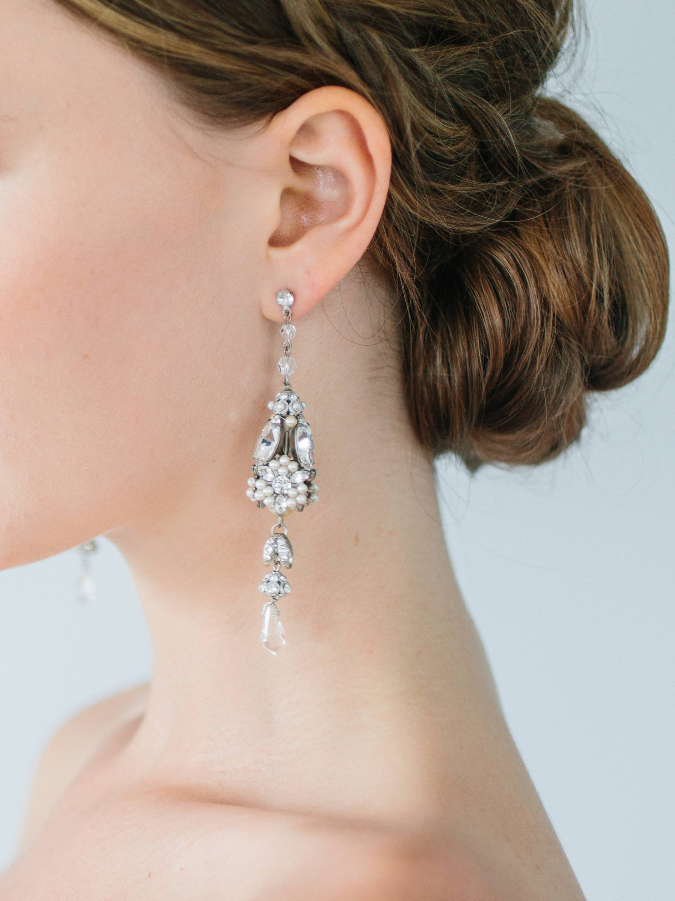 Ampersand Bridal Monaco Earrings