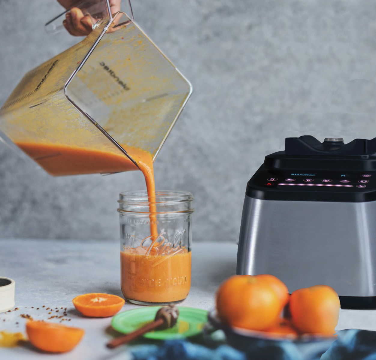 Orange Smoothie and Designer 725